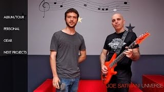 Joe Satriani - The Ultimate Interview 2014