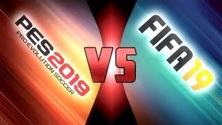 Comparación: PES 2019 vs FIFA 19