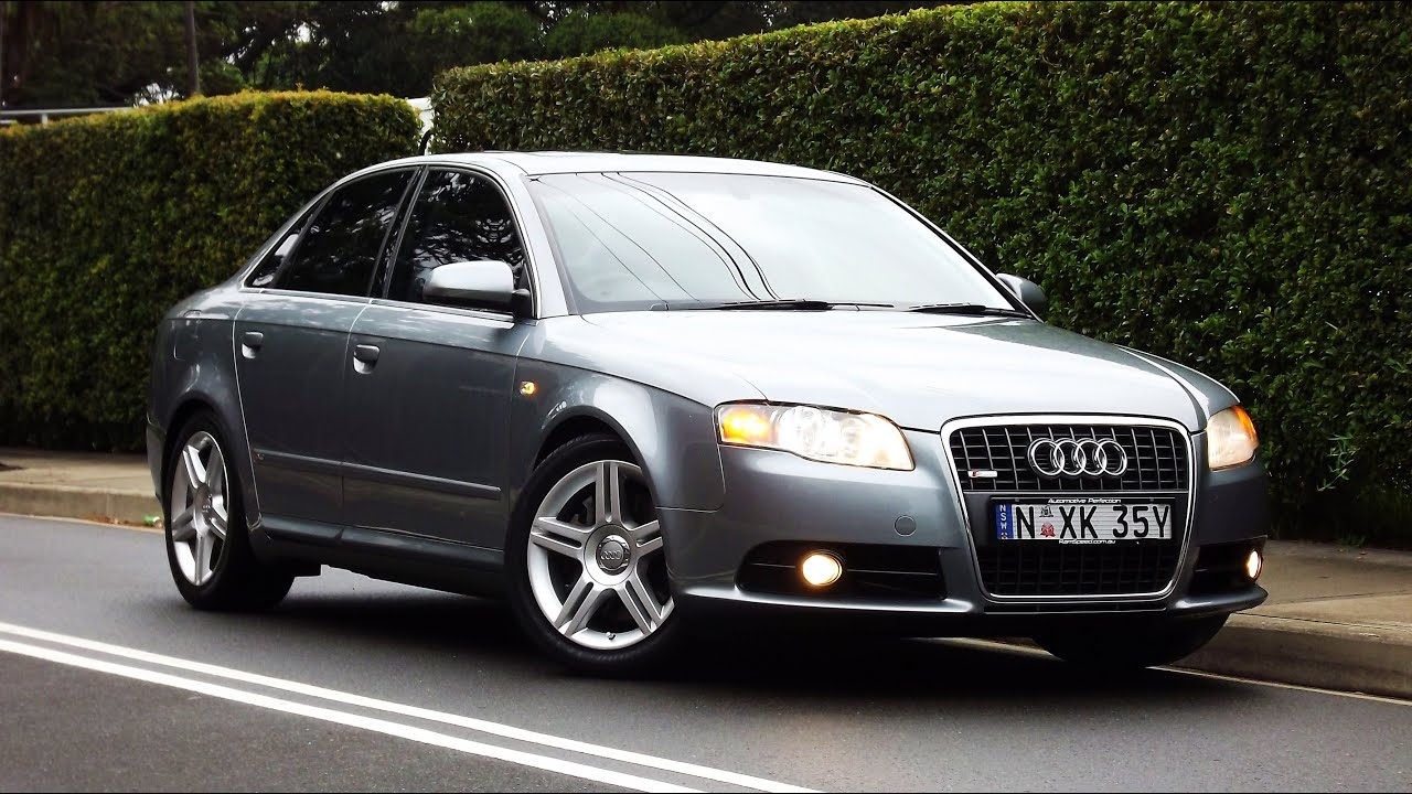 2005 audi a4 2 0t s line quattro b7 tip auto 9. Black Bedroom Furniture Sets. Home Design Ideas