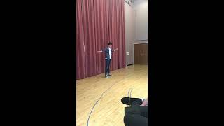 """Chattan Johnson sings """"I Chose Right"""" from """"Baby"""". Carnegie Mellon Voice Lab"""