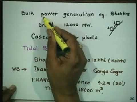 Lecture - 4 Hydroelectric Power Generation