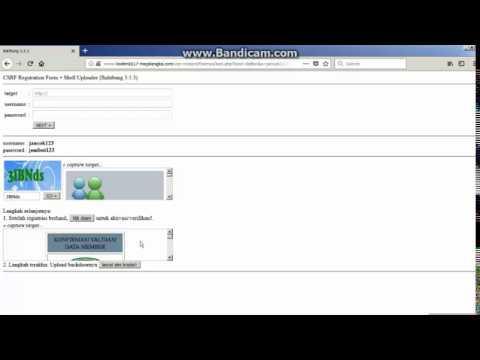 Tutorial Deface Website CMS Balitbang 3.5 Terbaru