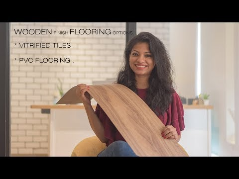 Wooden finish tile and vinyl flooring installation India  l Ask Iosis Hindi Interior Design India.