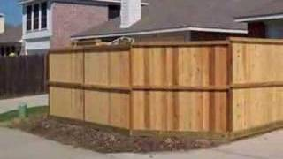 Cedar Wood Privacy Fences Installed Austin Texas Repairs