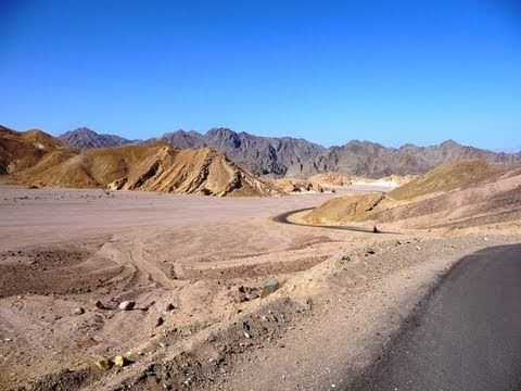 Cycling in Egypt and Jordan (tour from Egypt to the Netherlands, part one)