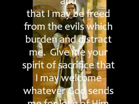 PRAYER TO SAINT MARTIN DE PORRES