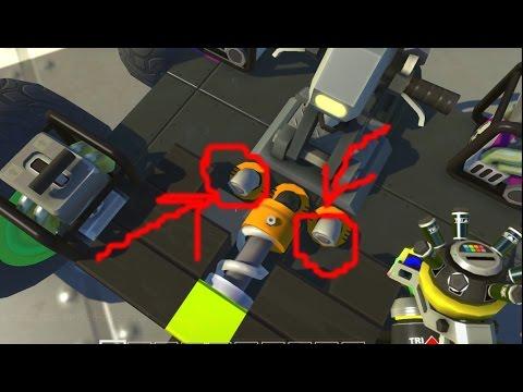 видео: scrap mechanic - Полезный Баг!