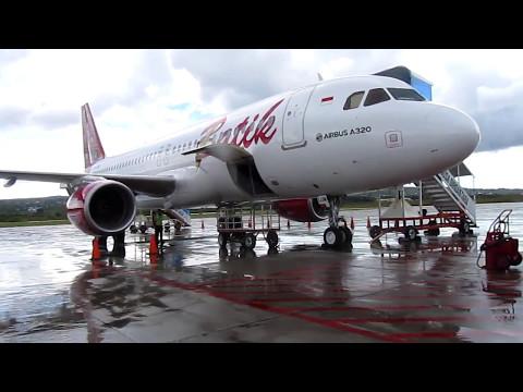 BATIK AIRBUS A 320 DR EL TARI KUPANG KE HALIM | Mau Mendarat Muter 30 Mnt Bandara Dipake Latihan