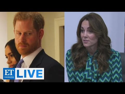 Kate Talks Happiness, Harry Talks 'The Crown' |  ET Canada LIVE