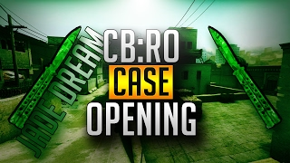 UNBOXING A KNIFE CS:GO IN ROBLOX CB:RO CASE OPENING UNBOXING JADE DREAM KNIFE - Roblox CB:RO Video