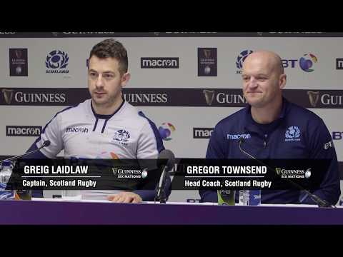 Press Conference: Greig Laidlaw & Gregor Townsend | Scotland 33-20 Italy | Guinness Six Natons