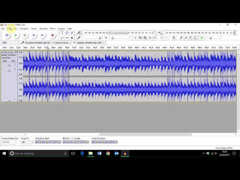 How to Loop or Repeat Tracks in Audacity