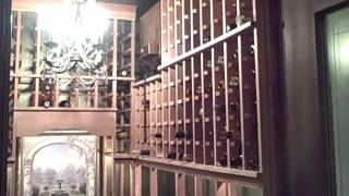 Small Closet Wine Cellar