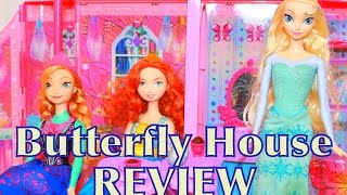 Barbie Butterfly Doll House Dream house Toy Review