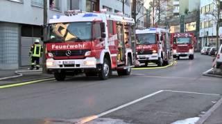 Wohnungsbrand in Böblingen am 29.1.2016