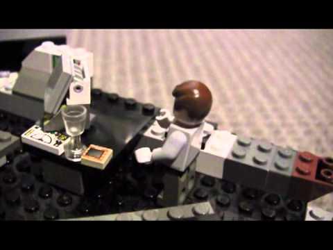 Building The Lego Bat Cave Custom Youtube