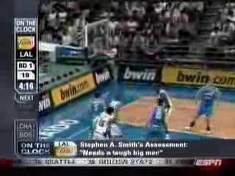 Marco Belinelli NBA Draft 2007 #18 pick