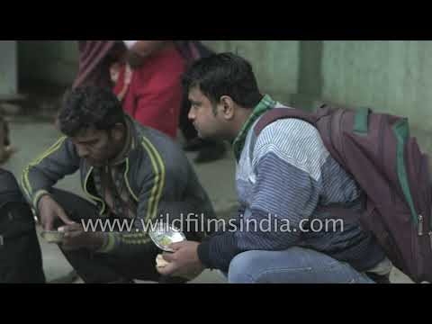 Shelter home near AIIMS by Delhi Urban Shelter Improvement Board