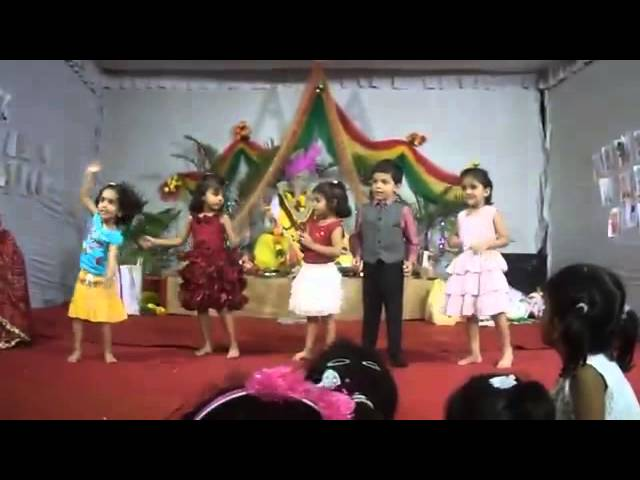 Lakdi ki Kaathi Group Dance kids Travel Video
