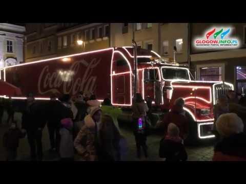 Kultowa ciężarówka Coca-Coli w Głogowie
