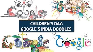 Children's Day: Google's India Doodles
