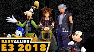 Kingdom Hearts III - KH Insider and Easy Allies Impressions - E3 2018