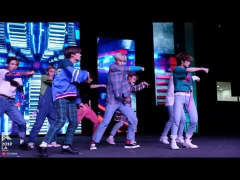 [#KCON19LA]  Multi Fancam 직캠 - ATEEZ - Special Dance Performance At #KCONROOKIES