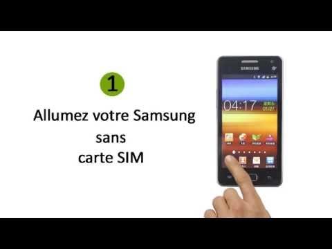 Comment Débloquer un Téléphone Samsung Galaxy 550
