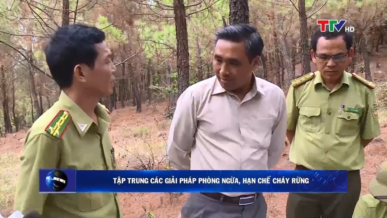 Đoàn công tác Bộ Nông nghiệp và PTNT kiểm tra công tác PCCCR tại Thanh Hóa