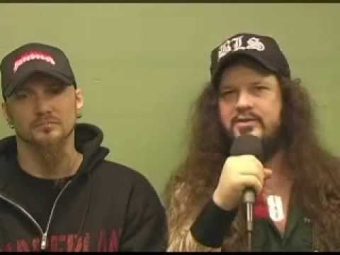 VERY RARE Dimebag and Pat (Damageplan) Interview and Crazy Song about Transvestites