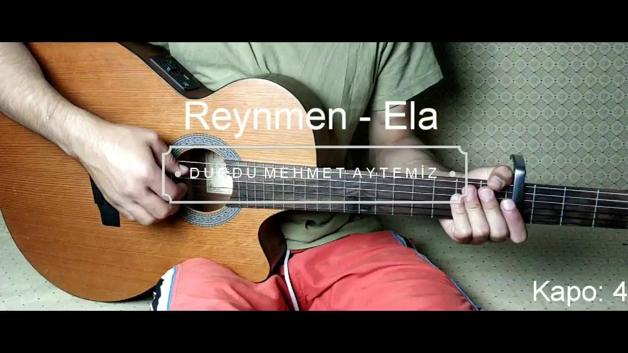 Reynmen Ela Akor Ve Ritim Gitar Dersi By Durdu Mehmet Aytemiz