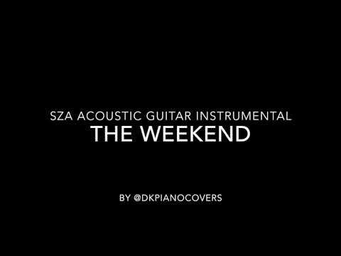 SZA - The Weekend Acoustic Guitar Instrumental
