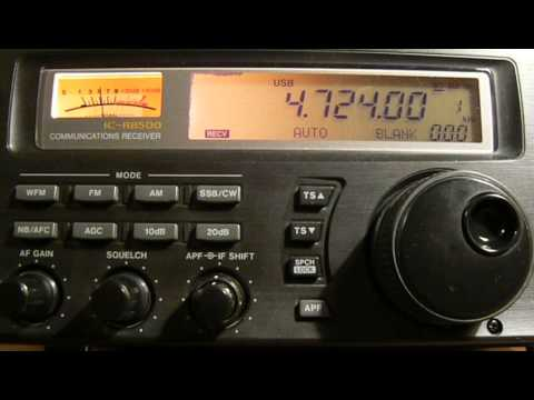 4724khz.High Frequency Global Communications System USA (HF-GCS).