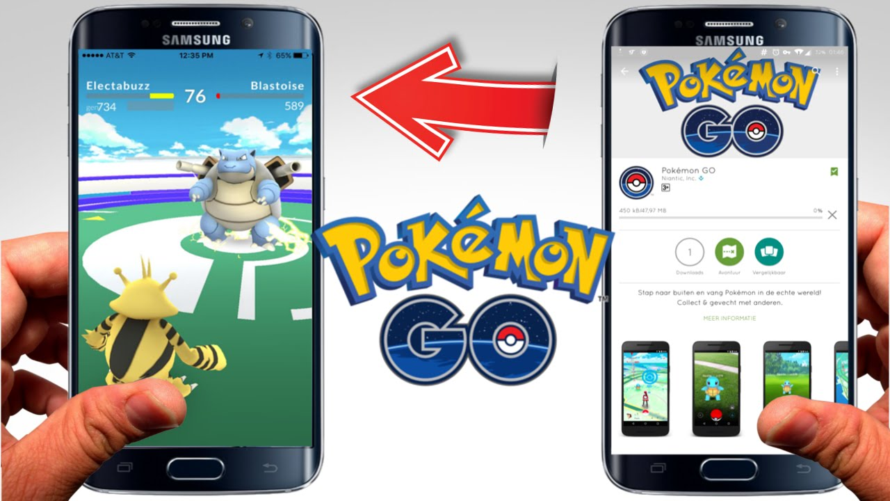 descargar pokemon go oficial del google play y app store - youtube