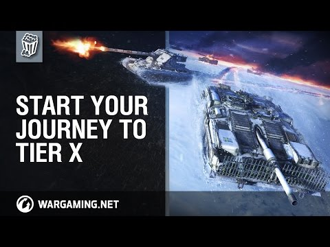 World of Tanks - Start Your Journey to Tier X