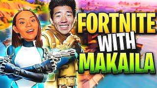 FORTNITE W/ MY WIFEY MAKAILA