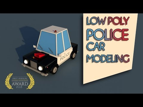 Cinema 4D Tutorial | Low Poly Car #01 | Professional Poly Modeling