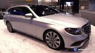 2018 Mercedes Benz E Class E 400 Wagon - Exterior Interior Walkaround - 2018 Chicago Auto Shoв