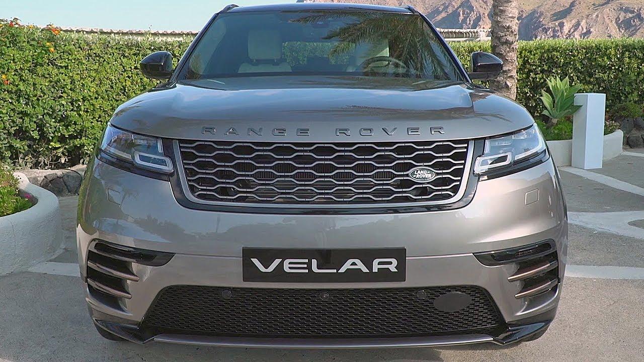 Range rover velar 2018 interior exterior design youtube for Range rover exterior design package