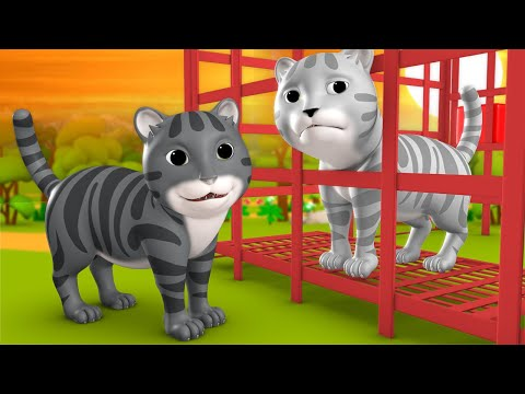 Kali Aur Safed Billi Hindi Moral Stories for Kids 3D Animated काली और सफेद बिल्ली कहानी Cat Tales