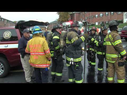 Working fire - Claymont, DE apartment complex - November 2, 2018