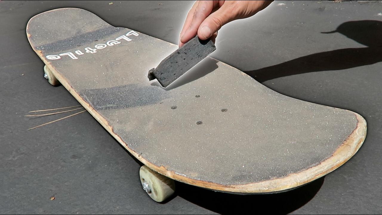 Skateboard Griptape Cleaner Rubber Eraser for Cleaning Skateboard