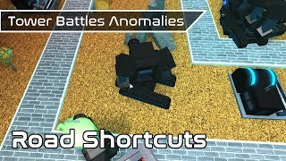 Road Shortcuts | Game Anomalies | Tower Battles [ROBLOX]