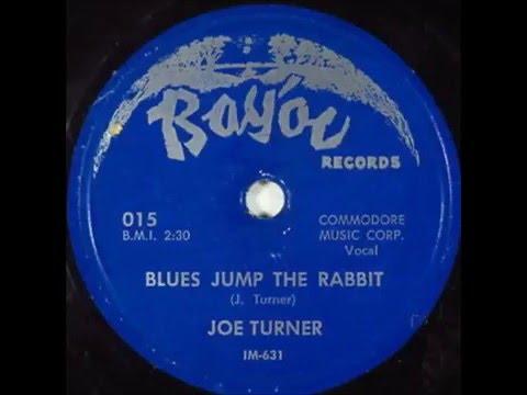 Fats Domino (session with Big Joe Turner) - Blues Jump The Rabbit - April 1950
