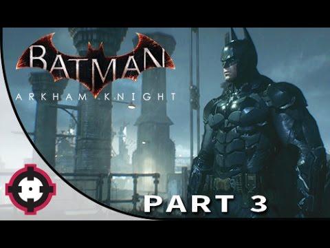Batman: Arkham Knight Gameplay Walkthrough Let's Play  // Part 3 - The New Batsuit!