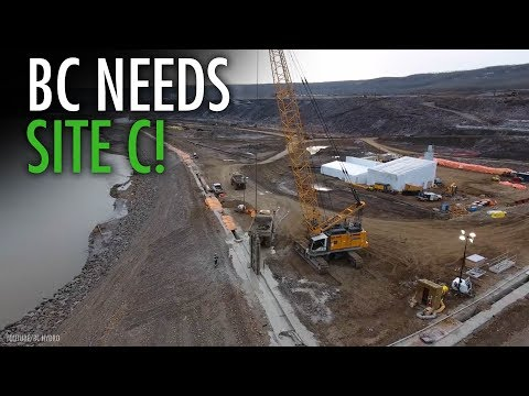 """BC politicians in """"Silly Slap Fight"""" over Site C dam"""