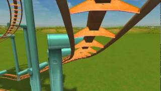 New Coasters In Rollercoaster Tycoon 3 Soaked! part 1/2