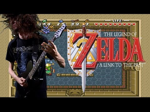 Zelda: Link to the Past Hyrule Castle Theme - Metal Cover || ToxicxEternity