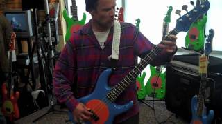 Flea Bass Solo at Schmitt Music in Burnsville, Minnesota USA