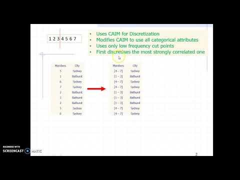 Discretization Or Categorization Of Numerical Values